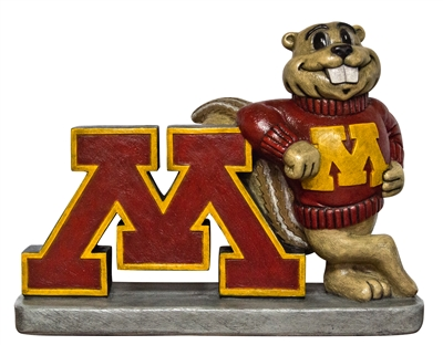 Minnesota Golden Gopher College Mascot