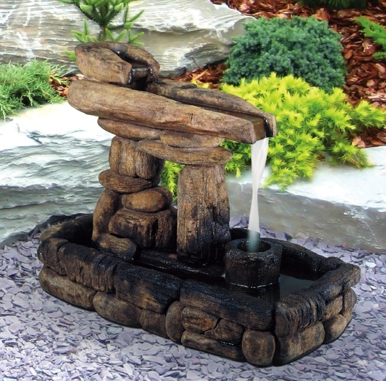 Inukshuk Guide Fountain