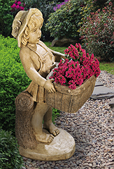 Flower Girl Planter