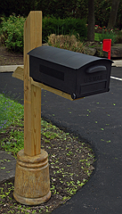 Decorative Post Holder