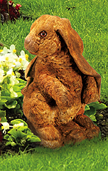 Standing Lop-Eared Rabbit