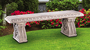 Grapeleaf Straight Bench