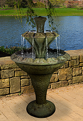 Flora Two-Tier Fountain