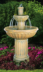Fluted Fountain