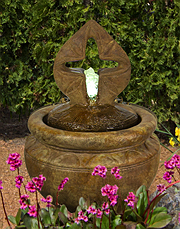 Antique Cross Bubbler Fountain