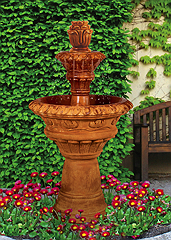Valencia Two-Tier Fountain