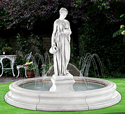 Hebe Fountain with Spray Ring in Toscana Pool (original surrounds)