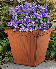 Square Fluted Planter