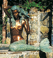 Mermaid Bronze Large